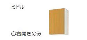 【最安値挑戦中!最大24倍】サンウェーブ GKF-AM-45ZN GKシリーズ 吊戸棚(高さ70cm) 間口45cm アイボリー [♪凹§]