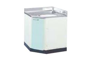 サンウェーブ GPL2C-75 セクショナルキッチン GP2シリーズ 調理台 コーナー用調理台 間口75×75cm リリーホワイト [♪凹]
