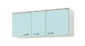 サンウェーブ GPB2A-120 セクショナルキッチン GP2シリーズ 吊戸棚(高さ50cm) 間口120cm ベビーブルー [♪凹]