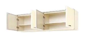 サンウェーブ HRI2A-180 セクショナルキッチン HR2シリーズ 吊戸棚(高さ50cm) 間口180cm アイボリー [♪凹]