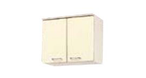 サンウェーブ HRH2A-60 セクショナルキッチン HR2シリーズ 吊戸棚(高さ50cm) 間口60cm シェルグレー [♪凹]