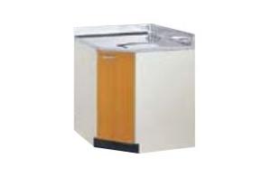 サンウェーブ GSM-C-75K セクショナルキッチン GSシリーズ 調理台 コーナー用調理台 間口75×75cm ミドルペア [♪凹]