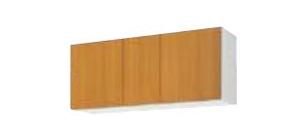 サンウェーブ GSE-A-120 セクショナルキッチン GSシリーズ 吊戸棚(高さ50cm) 間口120cm ライトグレー [♪凹]