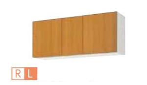 サンウェーブ GSM-A-120F(R・L) セクショナルキッチン GSシリーズ 吊戸棚(高さ50cm) 不燃仕様吊戸棚 間口120cm ミドルペア [♪凹]
