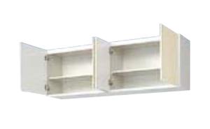 サンウェーブ GKF-A-150 セクショナルキッチン GKシリーズ 吊戸棚(高さ50cm) 間口150cm アイボリー [♪凹]