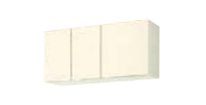 サンウェーブ GKF-A-105 セクショナルキッチン GKシリーズ 吊戸棚(高さ50cm) 間口105cm アイボリー [♪凹]
