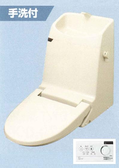 【最安値挑戦中!最大34倍】INAX リフレッシュ シャワートイレ タンク付 DWT-CC83W CCタイプ 流動方式 手洗付 [◇]