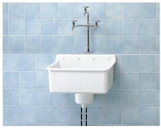 【最安値挑戦中!最大34倍】手洗器 特定施設用 TOTO SK73R ベルトラップ付実験用流し 流しのみ 研究室・実験室用器具[■♪]