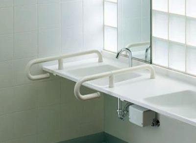 【最安値挑戦中!最大24倍】トイレ用手すり TOTO T112CP5S 人工大理石カウンター用 [■]