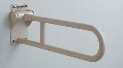 【最安値挑戦中!最大34倍】トイレ用手すり TOTO T112H8 腰掛便器用 可動式 はね上げタイプ 長さ:800mm [■]