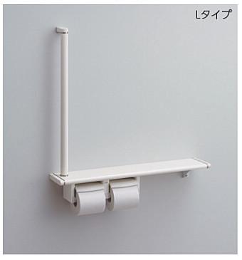 【最安値挑戦中!最大23倍】トイレ関連 TOTO YHB62RS 紙巻器一体型 手すり・棚一体タイプ Rタイプ [■]