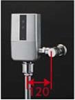 【最安値挑戦中!最大34倍】TOTO TEVN40UH 大便器便器自動洗浄システム オートクリーンC(露出タイプ) 壁給水 再生水仕様 受注生産品 [■§]