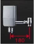 【最安値挑戦中!最大34倍】TOTO TEFV80EC 大便器便器自動洗浄システム オートクリーンC(露出タイプ) 床給水 再生水仕様 受注生産品 [■§]