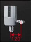 【最安値挑戦中!最大24倍】TOTO TEFV80UH 大便器便器自動洗浄システム オートクリーンC(露出タイプ) 壁・床給水 再生水仕様 受注生産品 [■§]