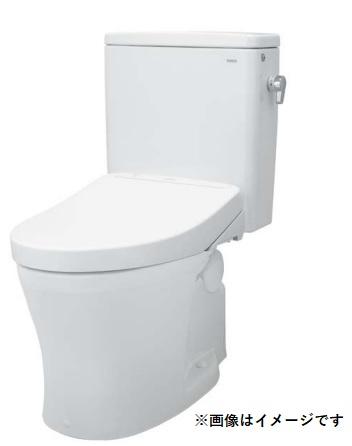 【まいどDIY】TOTO CS597BPC+SH598BAY パブリックコンパクト便器 タンク式 壁排水 一般地 排水心120mm 掃除口あり(右) 手洗いなし/ふた固定あり [♪■]