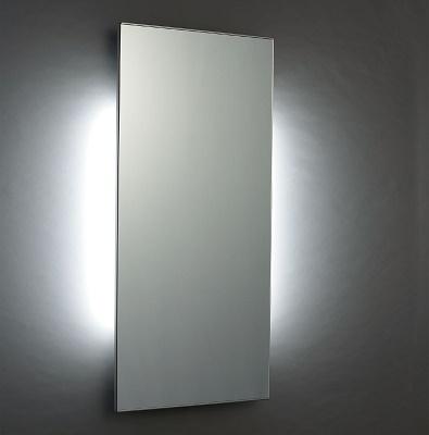 【最安値挑戦中!最大24倍】鏡 INAX MH-351NBJ バック照明付鏡(LED照明・照明スイッチなし) [□]
