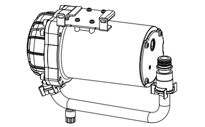 【最安値挑戦中!最大24倍】トイレ関連部材 INAX CWA-261 シャワートイレ用付属低流動圧 ブースター(後付用) [◇]