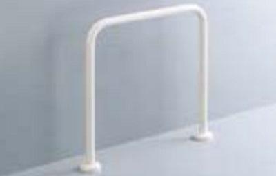 【最安値挑戦中!最大23倍】手すり INAX KF-131AE60 和風便器用 床固定式樹脂被覆タイプ [□]