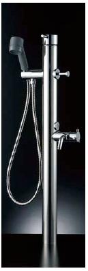 【最安値挑戦中!最大34倍】水栓金具 INAX LF-932SHK ペット用水栓柱 シングルレバー混合 逆止弁付 一般地・寒冷地共用 [□]
