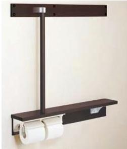 【最安値挑戦中!最大24倍】INAX NKF-6WU2R 木製手すり 後付棚手すり 右仕様 [□]