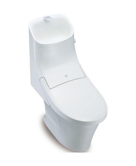 【最大44倍スーパーセール】INAX 【YBC-ZA20S-DT-ZA281W】 アメージュZA シャワートイレ 手洗付 寒冷地・流動方式 床排水 (Sトラップ) アクアセラミック [♪□]