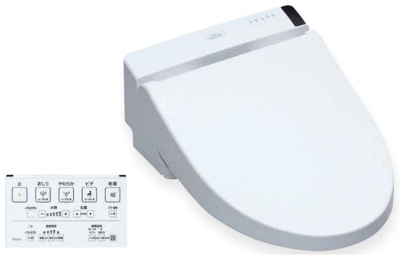 【最安値挑戦中!最大34倍】TOTO ウォシュレット S2A 【TCF6552AM】(TCF6552A+TCA321) リモコン便器洗浄付タイプ 密結形便器用 ホワイト【#NW1】 [■]