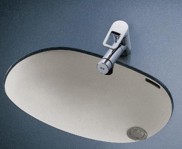 【最安値挑戦中!最大34倍】洗面器 TOTO L587U アンダーカウンター式洗面器のみ カウンター式洗面器[♪■]