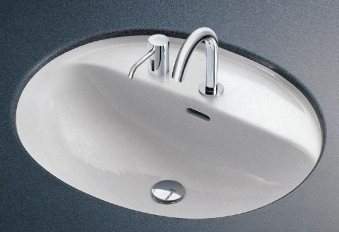 【最安値挑戦中!最大34倍】洗面器 TOTO L582CMS アンダーカウンター式洗面器のみ カウンター式洗面器 [♪■]