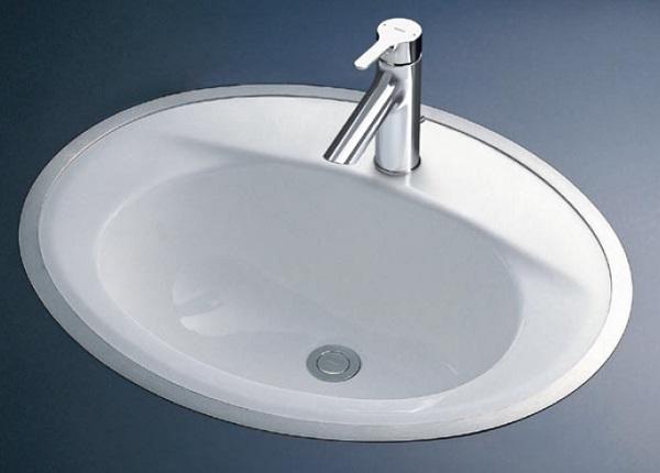 【最安値挑戦中!最大25倍】洗面器 TOTO L525RCU フレーム式洗面器のみ カウンター式洗面器 フレーム式[♪■]