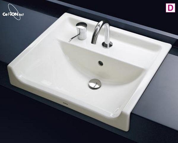 【最安値挑戦中!最大34倍】洗面器 TOTO L350CM セルフリミング式洗面器のみ カウンター式洗面器 アンダーカウンター式[♪■]
