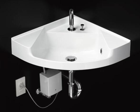 【最安値挑戦中!最大24倍】洗面器 TOTO MLRA50A カウンター一体形コーナー洗面器のみ 樹脂製 [♪■]