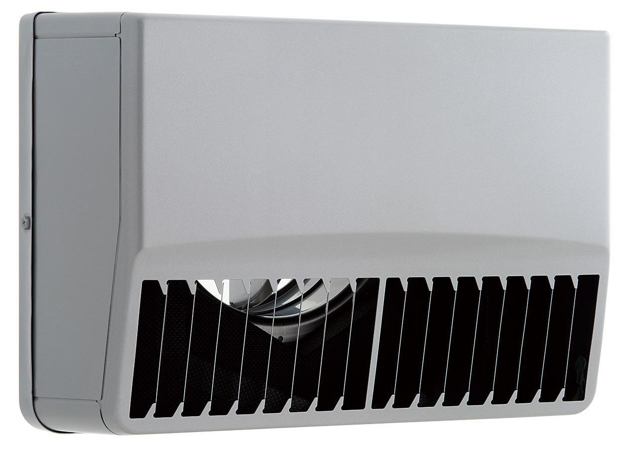 【最安値挑戦中!最大25倍】換気扇 ユニックス SSCG125BLDSQ ステンレス製 グリル 外風対策(防音) 防火ダンパー 角型防音カバー 縦ガラリ左吹き 120℃型式 [♪■]