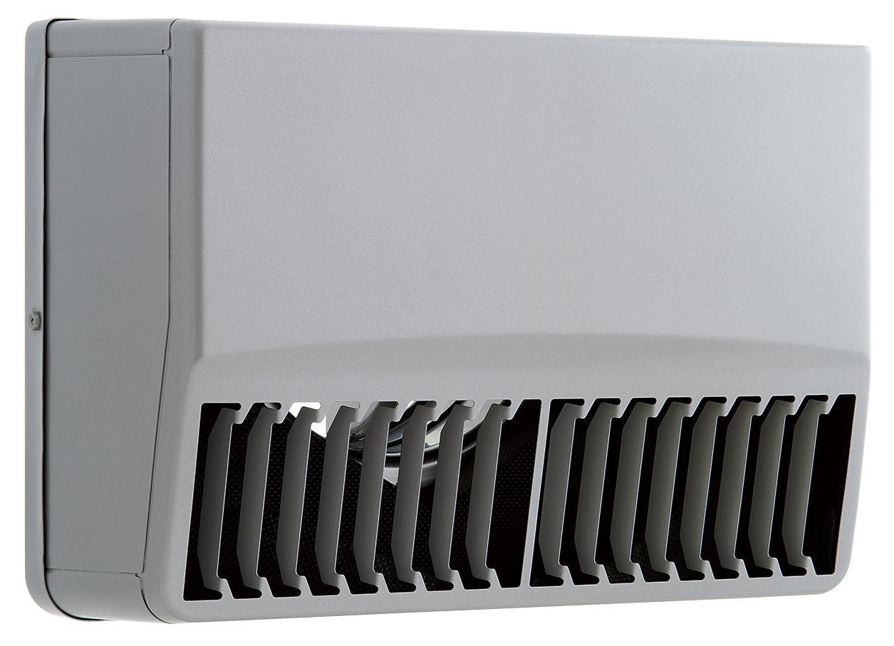 【最安値挑戦中!最大24倍】ユニックス SSCG125BR3MDSP ステンレス製 グリル 外風対策(防音) 防火ダンパー 角型防音カバー 縦ガラリ右吹き 72℃型式 3メッシュ [♪■]
