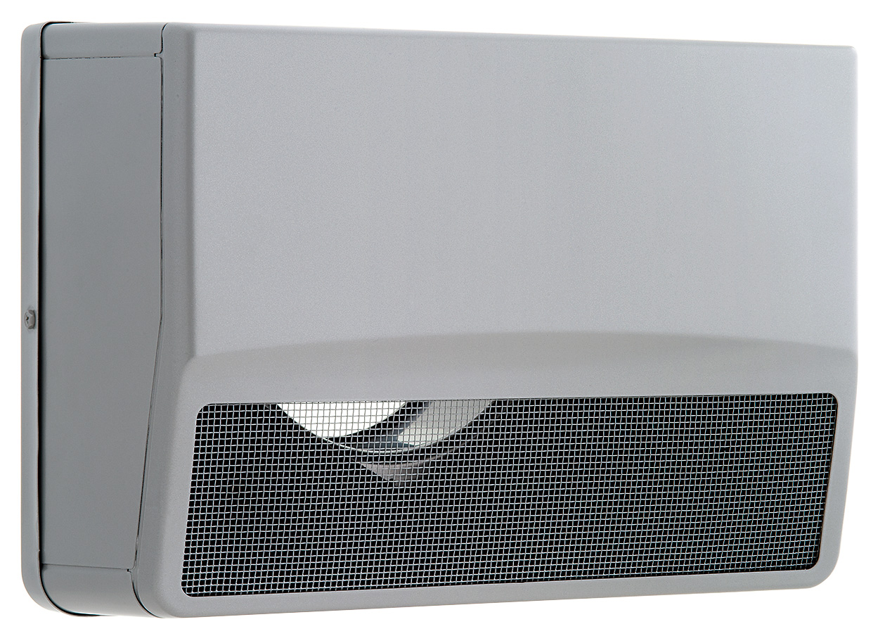 【最安値挑戦中!最大25倍】換気扇 ユニックス SSCW100B3M ステンレス製 グリル 外風対策(防音) 角型防音カバー 3メッシュ [♪■]
