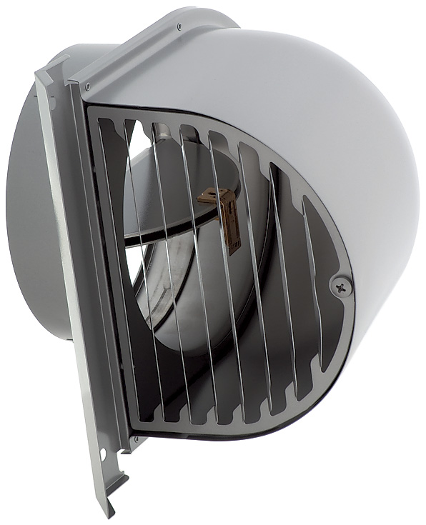 【最安値挑戦中!最大25倍】換気扇 ユニックス FSG200FR5MDSQ 深型フード 横ガラリ 防火ダンパー付 120℃型式 5メッシュ [♪■]