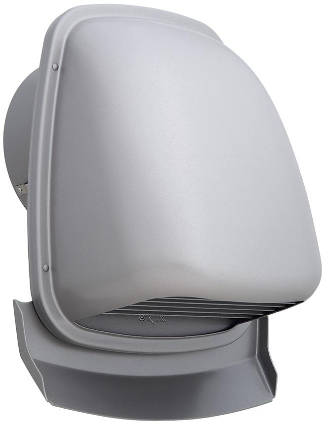 【最安値挑戦中!最大33倍】換気扇 ユニックス PAG200AR10M-AL 深型フード 横ガラリ 10メッシュ [♪■]