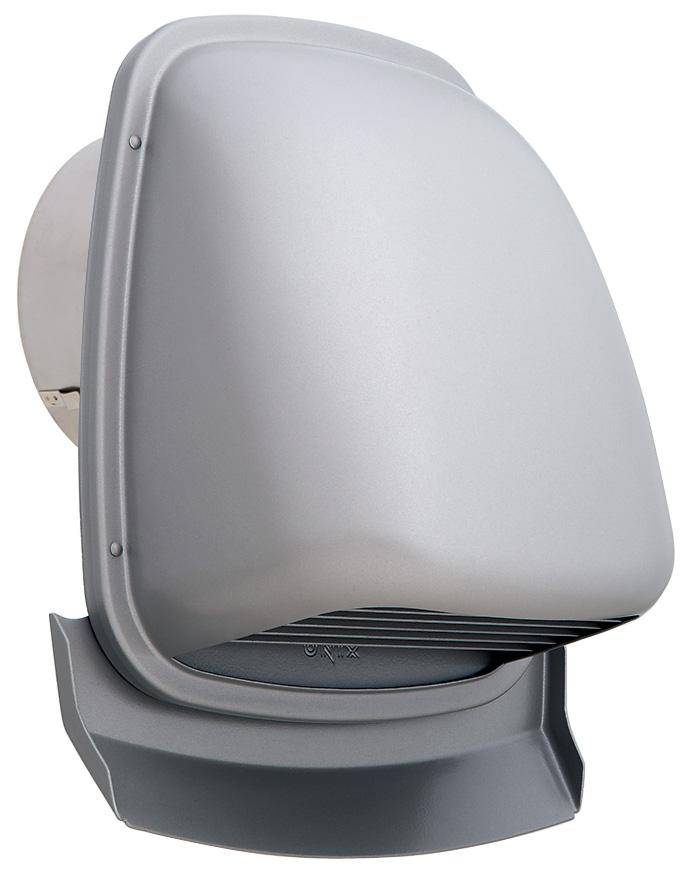 【最安値挑戦中!最大33倍】換気扇 ユニックス PAG200ARDSQ-AL 深型フード 横ガラリ 防火ダンパー付 120℃型式 [♪■]