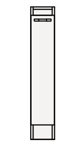 【最安値挑戦中!最大24倍】クリナップ トールキャビネット(下台) AMTF15K Tiarisティアリス 間口15cm 片面引出しタイプ スタンダードレールH80cm 奥行59cm 高さ83cm [♪△]