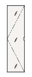 【まいどDIY】クリナップ トールキャビネット(上台) SRTU30M S(エス) 間口30cm ミラータイプ(R・L) 奥行55cm 高さ112.5cm [♪△]