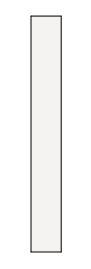 【最大44倍お買い物マラソン】クリナップ トールキャビネット(上台) SRTU15 S(エス) 間口15cm 片面収納タイプ(R・L) スタンダード 奥行55cm 高さ112.5cm [♪△]
