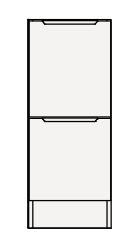 【まいどDIY】クリナップ トールキャビネット(下台) RTFH30BS S(エス) 間口30cm 引出しタイプ スタンダード 奥行55cm 高さ82.5cm [♪△]