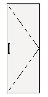 【まいどDIY】クリナップ トールキャビネット(上台) NFTU45 FANCIO(ファンシオ) 間口45cm 扉タイプ(R・L) スタンダード 奥行55cm 高さ112.5cm [♪△]