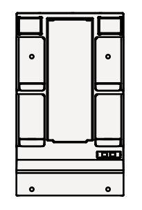 【最安値挑戦中!最大34倍】クリナップ ミラーキャビネット M-L601GAKH BGAシリーズ 間口60cm 1面鏡 蛍光ランプ 奥行7cm 高さ97.5cm [♪▲]