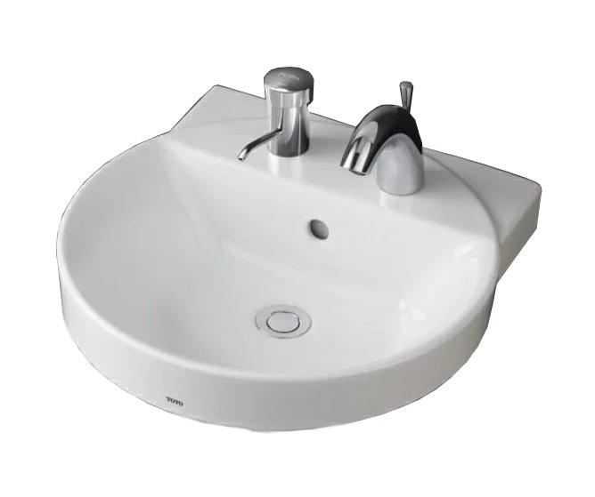 【最安値挑戦中!最大25倍】洗面器 TOTO LS704CM ベッセル式洗面器のみ カウンター式洗面器 ベッセル式[♪■]