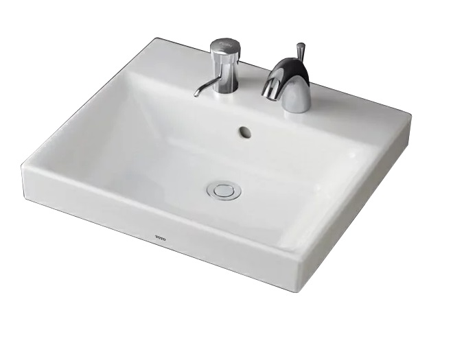 【最安値挑戦中!最大25倍】洗面器 TOTO LS722CM ベッセル式洗面器のみ カウンター式洗面器 ベッセル式[♪■]
