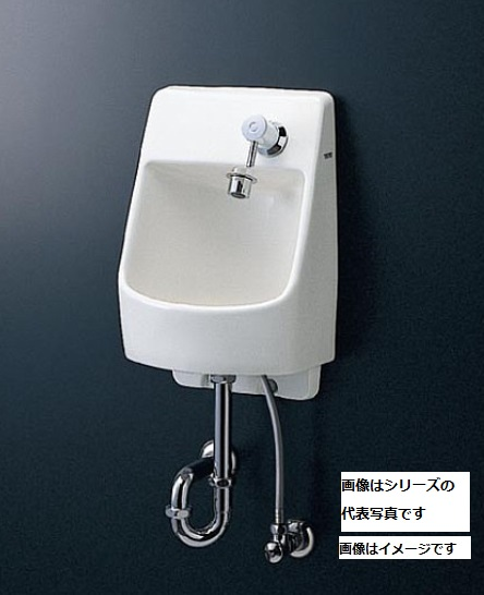 【最安値挑戦中!最大23倍】TOTO 手洗器 LSW570ASR 埋込手洗器セット 自動水栓(単水栓 発電) 床排水金具 Sトラップ 木枠 固定金具[♪■]