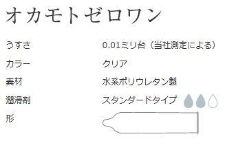 【オカモト】【在庫アリ】ゼロワン 0.01mm 3個入【コンドーム・避妊具001オカモト001】【お一人様288個まで】
