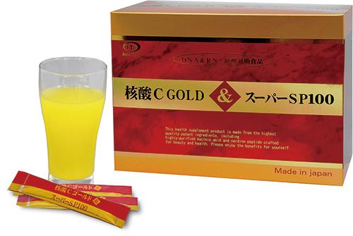 核酸Cゴールド&スーパーSP100 180g(3g×60包)【送料無料:沖縄・北海道は送料760円となります】