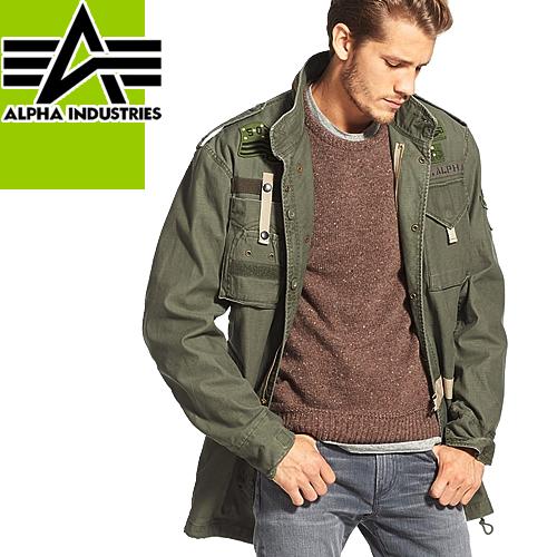 アルファ インダストリーズ M-65 ミリタリージャケット ジャケット メンズ レディース ロング 大きいサイズ ブランド Alpha Industries 50th ANNIVERSARY