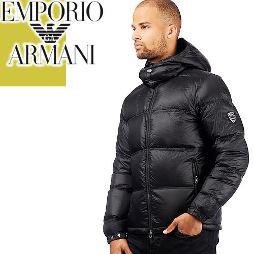 エンポリオアルマーニ ダウン ダウンジャケット 2018年秋冬新作 メンズ アウター メンズ ブランド 大きいサイズ 冬 防寒 Emporio Armani EA7 6ZPB53 PNE2Z